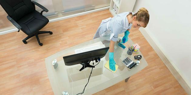 la importancia de mantener los espacios de trabajo limpios